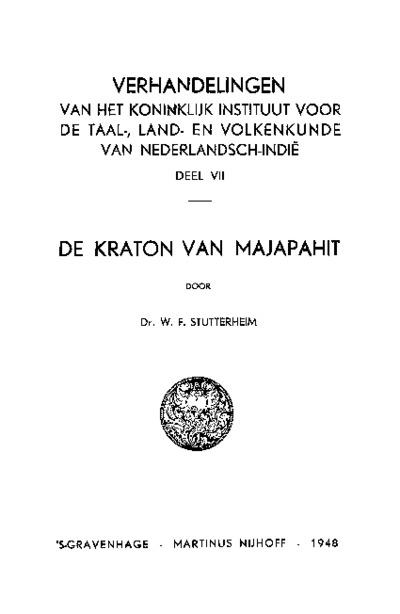De kraton van Majapahit