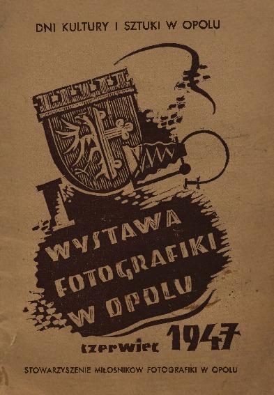 Wystawa fotografiki w Opolu czerwiec 1947
