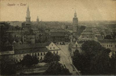 Opole : panorama miasta od strony miasta
