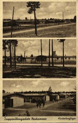 Nowa Kuźnia : obóz wojskowy