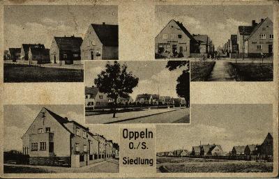 Opole : dzisiejsza dzielnica Generalska - od strony ul. Nysy Łużyckiej, ul. Poniatowskiego, ul. Andersa, Dwernickiego