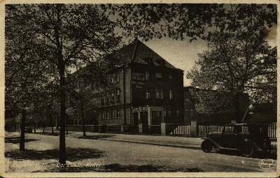 Opole : Der Zunst Keller [Izba Rzemieślnicza od strony płn. - wsch. z wejściem do dzisiejszej restauracji Czardasz]