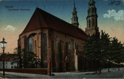 Opole : Katedra Podwyższenia Krzyża Świętego od strony północnej