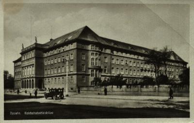 Opole : Reichsbahndirection [budynek Dyrekcji Okręgowej Kolei, dziś siedziby Komendy Wojewódzkiej Policji