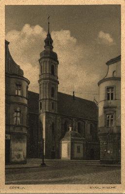 Opole : [Evangelische Kirche] Dzisiejszy kościół pw. Świętej Trójcy