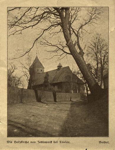 Wodzisław Śląski : kościół drewniany w Jodłowniku