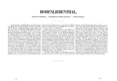 Hohenliebenthal