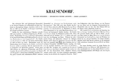 Krausendorf