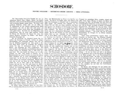 Schosdorf