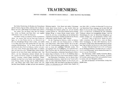 Trachenberg