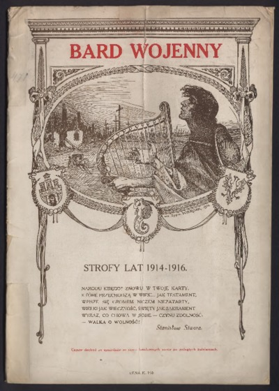 Bard wojenny : strofy z lat 1914-1916