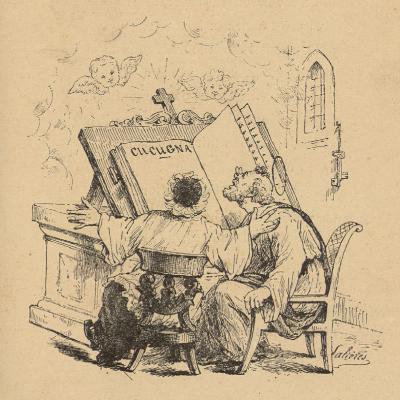 Lou sermou dal curat de Cucugna : pouëmo tragi-coumic / Achille Mir ; ill. de N. Salières