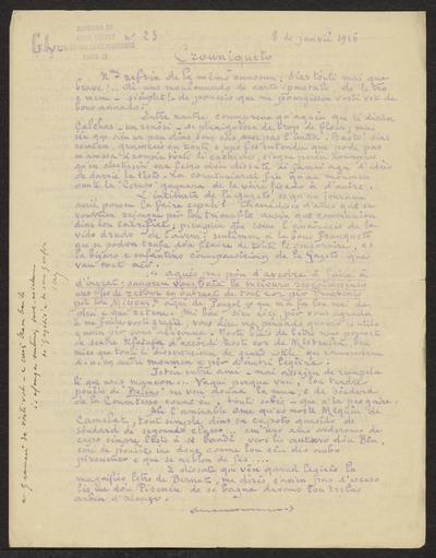 Gazeto Loubetenco. - n°23,  Janvié 1916