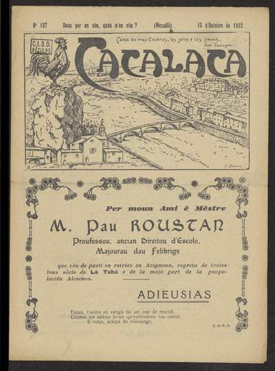 Cacalaca. -  N°137 (Outobre 1932)