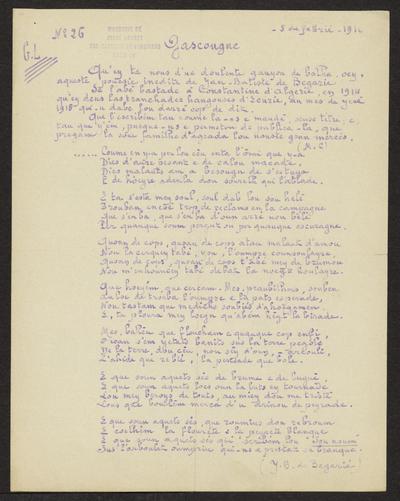 Gazeto Loubetenco. - n°26,  Febrié 1916