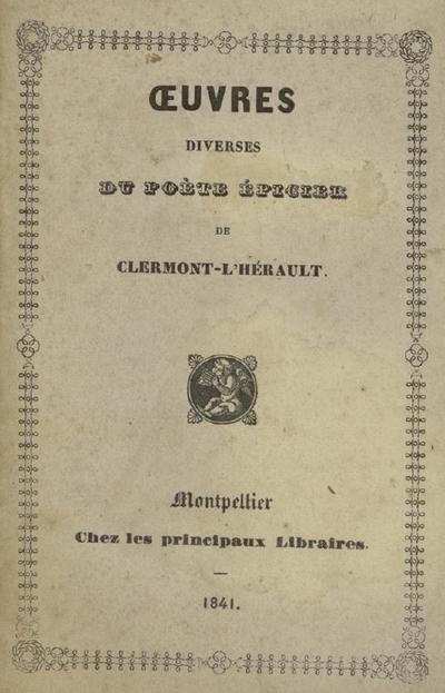 La muse occitanique : inspirations religieuses et poétiques de l'artisan  / Frédéric Durand fils