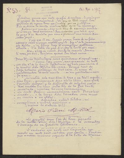 Gazeto Loubetenco. - n°53,  Mai 1917
