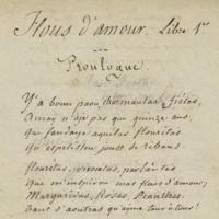 Flous d'amour : Libre 1er / Joseph Chauvet