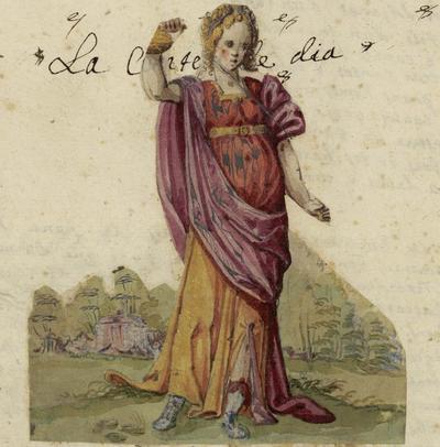La Comtesse de Die : sa vie, ses oeuvres complètes, les fêtes données en son honneur, avec tous les documents / Sernin Santy ; introd. par Paul Mariéton