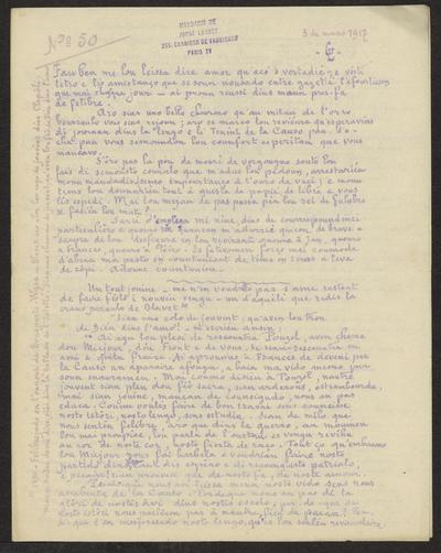 Gazeto Loubetenco. - n°50,  Mars 1917