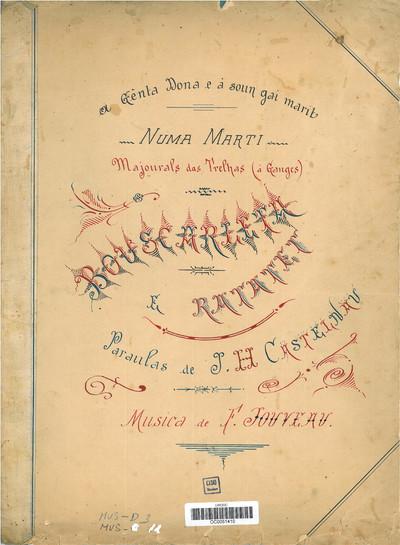 Bouscarleta e ratatet [Musique imprimée] / Paraulas de J. H. Castelnau ; Musica de F. Jouveau