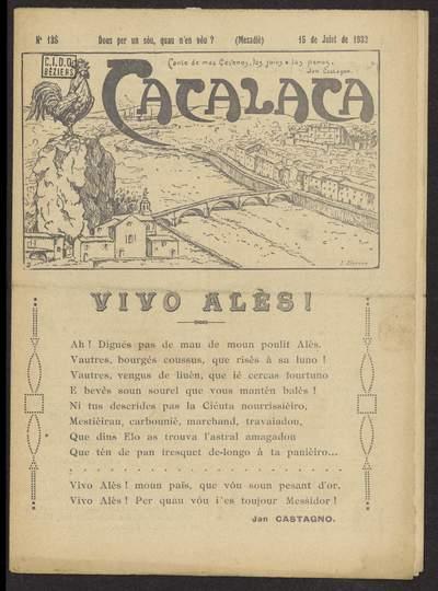 Cacalaca. -  N°135 (Juiet 1932)