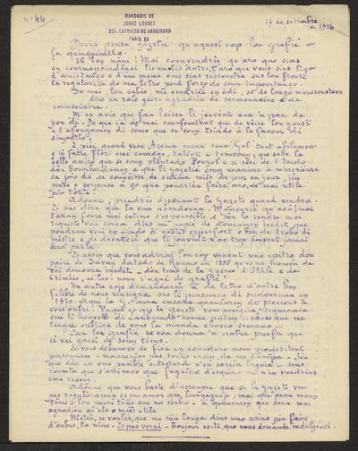 Gazeto Loubetenco. - n°44,  Setèmbre 1916