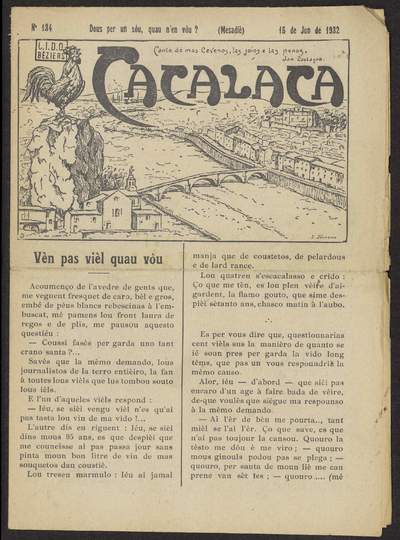 Cacalaca. -  N°134 (Jun 1932)