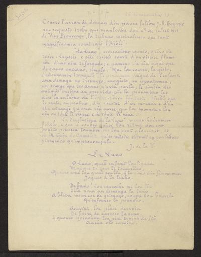 Gazeto Loubetenco. - n°17,  Nouvèmbre 1915