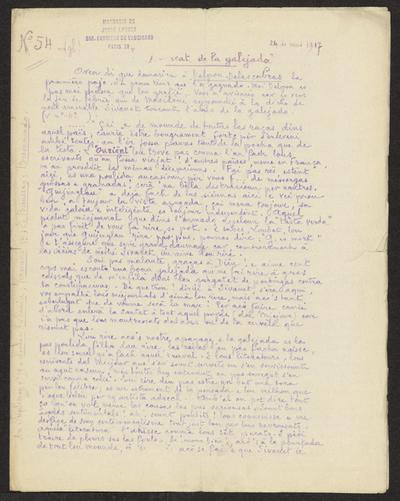 Gazeto Loubetenco. - n°54,  Mai 1917