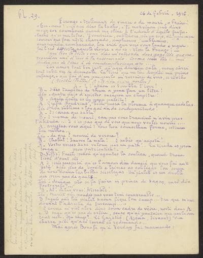 Gazeto Loubetenco. - n°29,  Febrié 1916