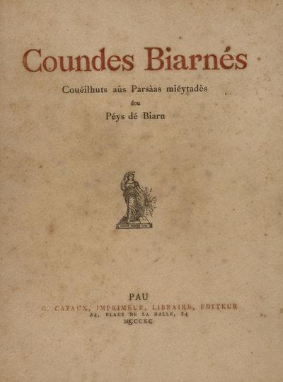 Coundes biarnés, couéilhuts aüs parsàas miéytadès dou péys dé Biarn / [J.-V. Lalanne]