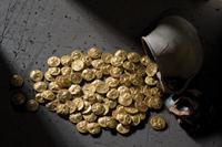 Εκ των υπό την ρίζαν δένδρου ευρεθέντων Αρχαίοι Ελληνικοί Θησαυροί στο Νομισματικό Μουσείο