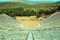 Αρχαίο θέατρο Ασκληπιείου Επιδαύρου