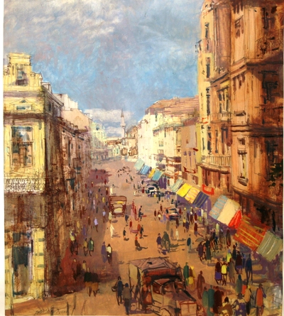 УлицаТърговска преди 1944 г.