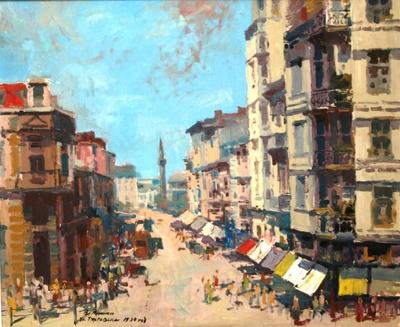 УлицаТърговска 1939 г.