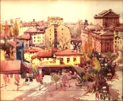 Студентска демонстрация 1933-34 .