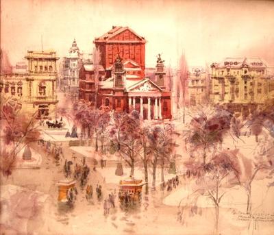 Народният театър и Военното министерство 1933-34 г.