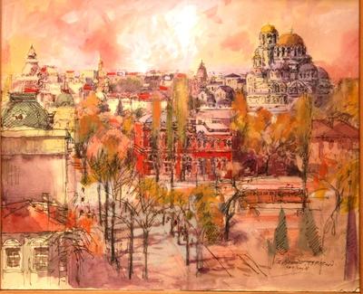 София 1934-35 г.