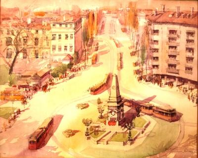ПаметникътВасил Левски1965 г.