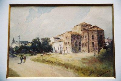 Църквата Св. София след реставрацията и.