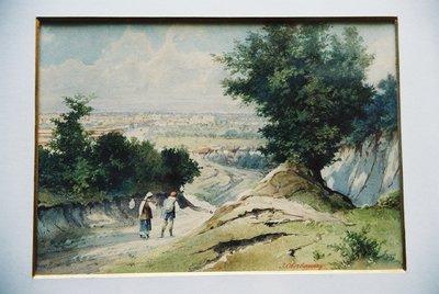 Изглед от местността Кръста.