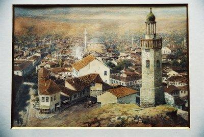 Изглед на София с часовниковата кула.