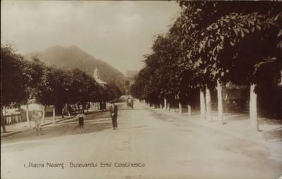 Piatra Neamţ. Bulevardul Emil Costinescu