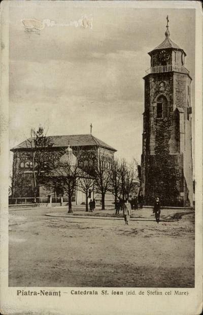 Piatra-Neamţ. - Catedrala Sf. Ioan (zid. de Ştefan cel Mare)