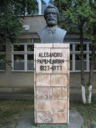 Bustul  lui Alesandru Papiu Ilarian