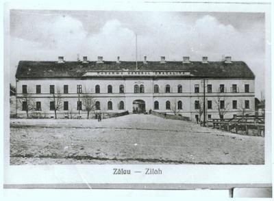 Centrul Militar Judeţean Sălaj de la sfârşitul perioadei interbelice; azi - Centrul de Cultură şi Artă al Judeţului Sălaj