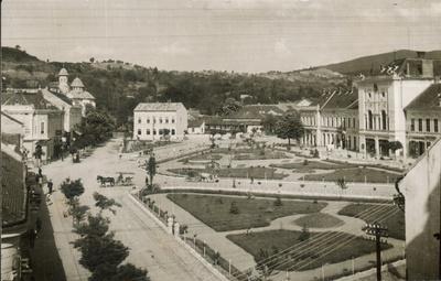 Fotografie de ansamblu - Centrul vechi al orașului Zalău