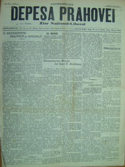 Depeșa Prahovei, Anul II, No.125