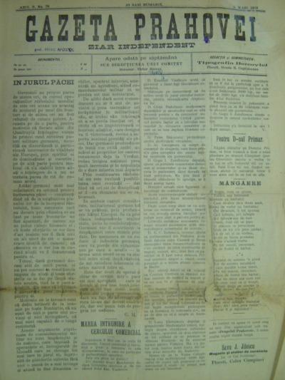 Gazeta Prahovei, Anul II, No.78